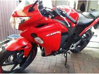Honda Cbr125r 2014 6k miles mint condition
