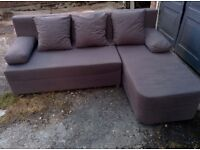 Grey corner sofa bed, FREE DELIVERY in London