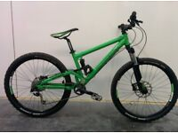 Commencal Full Suspension Mountain Bike Fully Serviced Suspension Custom Build