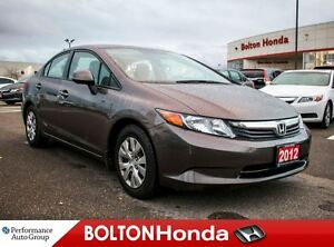 2012 Honda Civic LX|AC|ABS|Single-Owner