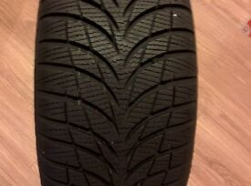 Winter tyres and wheels for sale - matching set of four - 205/55 R16 GOODYEAR