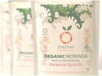 MORINGA Organic Powder 100g by EMZANI