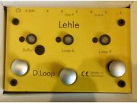 LEHLE - D. Looper SGoS ( Programmable Guitar Effects Switcher/ Looper)