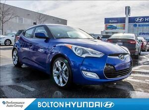 2013 Hyundai Veloster Tech|Leatherette|Navigation|PanoRoof|Winte