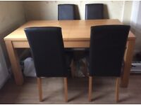 Table & 4 chirs