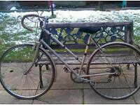 Old raleigh raceing bycicles