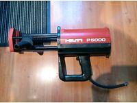Hilti P5000 Air Dual Caulking Epoxy Resin gun