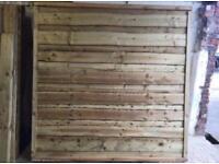 💧Wooden Wayneylap Fence Panels * Pressure Treated