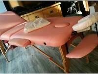 Pastel Pink Massage Table