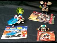 Selection of LEGO Sets System Exoforce Mars with instructions 6453 7711 7302 from £4 each
