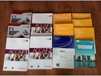 ACCA level 1/2/3 books
