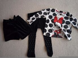 Minnie mouse set 2-3 years