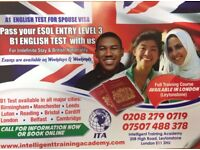 SELT for British Naturalisation or Indefinite leave to remain