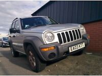 JEEP CHEROKEE 2.5 CRD SPORT 2003 – Spares or repairs