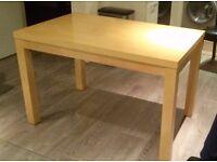 Oak Veneer 4ft Dining Table - £40