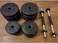 Dumbbells weights set - 29kg
