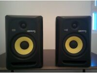 Krk rokit rp6 g3 monitor speakers