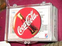 1993 Coca Cola Coke Milk Caps or Pogs & Collector Card Set