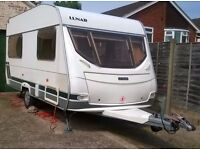 Lunar Chateau 400/4 Berths (Year 2003) - perfect lightweight starter van, suitable for smaller cars