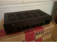 Classic NAD 3020 Integrated Amplifier (Amp)