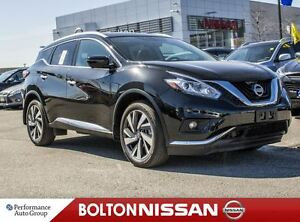 2017 Nissan Murano Platinum, Navigation, Panoramic Sun Roof, Bos