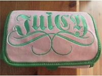 Juicy couture make up bag toiletry case roll out bag
