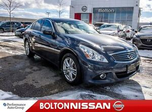 2012 Infiniti G37X |Leather|Heated Seats|Bluetooth|Navi