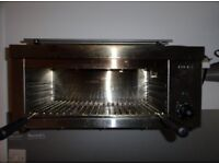ACE 2K Salamander Grill in good condition. Stainless Steel.
