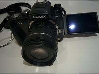 Panasonic Lumix G3 DSLR+ 14-42 mm lens