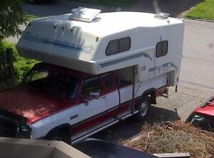 """REWARD"" BIGFOOT CAMPER & DODGE DIESEL RAM PU STOLEN"