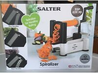 Salter Spiralizer - used once - excellent condition in box