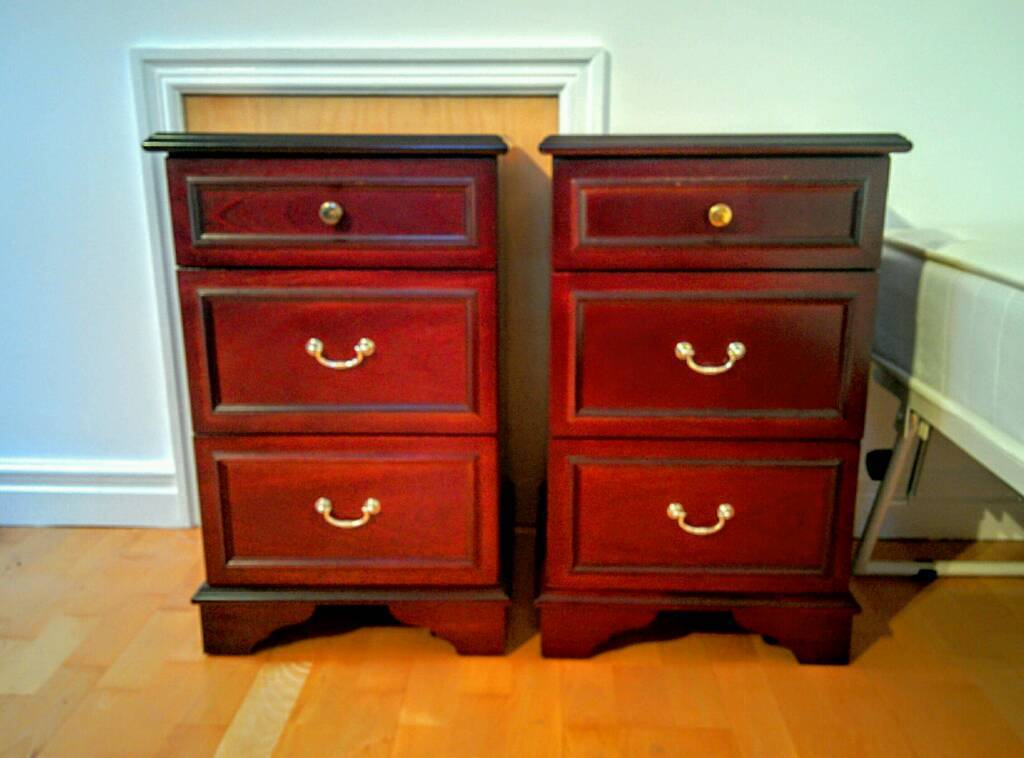 Pair Of Stag Minstrel Bedside Drawers In Gateshead Tyne