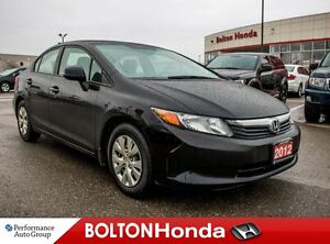 2012 Honda Civic LX|ABS|Keyless Entry|Accident-Free