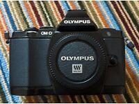 Olympus E-M5 micro 4/3 digital camera