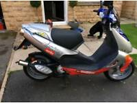 Aprillia sr50 2 stroke moped, scooter