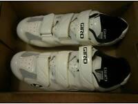 Mens Road Cycling Shoes - Giro Treble II - 11 (46)