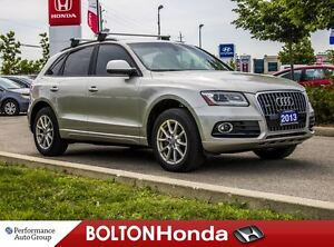 2013 Audi Q5 2.0T|Leather|Bluetooth|AWD|Heated Seats