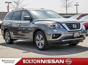 2017 Nissan Pathfinder SL|Leather|Moon Roof|3rd Row|NAVI