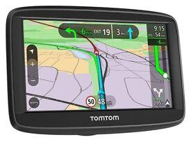 genuine TomTom Via 52 5 Inch Western Europe Lifetime Maps & Bluetooth Hands Free