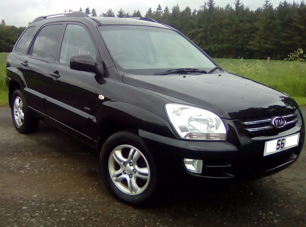 2007 kia sportage crdi xs 56 plate in perth perth and kinross gumtree. Black Bedroom Furniture Sets. Home Design Ideas
