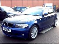 2010, 59 Plate BMW 116d M Sport, diesel with Sat Nav