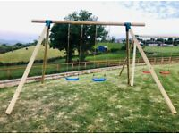 Lakeview Playsets Ltd - Double Swing Set