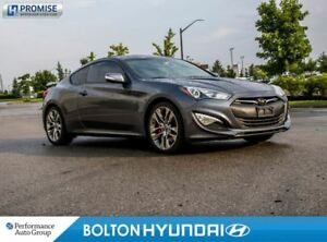 2015 Hyundai Genesis Coupe 3.8 GT. NAVI. SunRoof. Leather. Camer