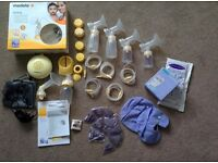 Medela Swing Breast Pump and accessories