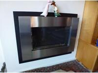 Focal point flueless gas fires. Hardly used