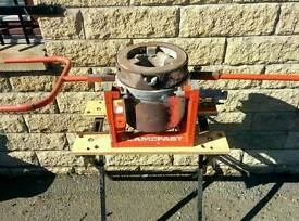Flamefast CM250 aluminium furnace - ex high school