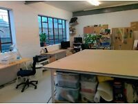 Artist studio / Workshop space near Haggerston Station - 1 person rent