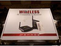 AV transmitter, Wireless (Wi-Fi)
