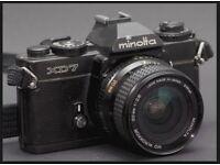 Minolta XD7 Film Camera