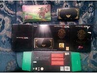Limited edition Zelda 3DS